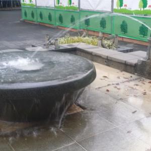 上野公園のカエル噴水【台東区上野】