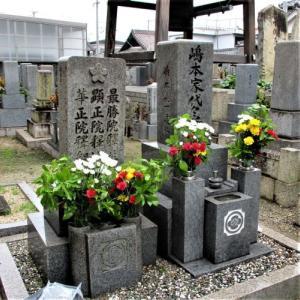 和歌山市狐島の「覚円寺」さんにお墓参りに行ってきた!