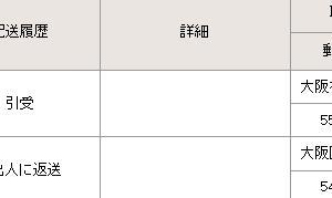 国際eパケットライト 10月1日発送 10月25日 返却