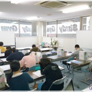 進学教室StudyGym冬期講習会中1・中2の内容と模試日程について。