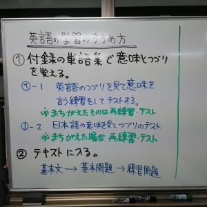 英語が苦手な生徒様向け英語科定期試験対策学習。