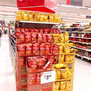 オーストラリアのスーパーに日本のお菓子?!