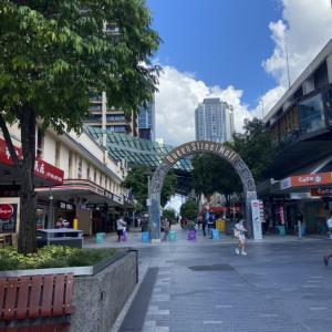 留学生7日間日記① -Brisbane Main Street-