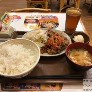 【すき家編】チェーン店でオススメ定食メニューを世界一詳しく調査!