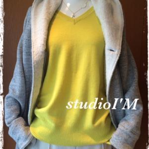 ☆ HAPPY YELLOW なセーター ☆