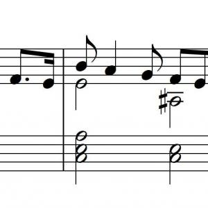 コンクールのアドバイスレッスンをしました ③ ほんのさわりだけですが、この曲をアナリーゼ。