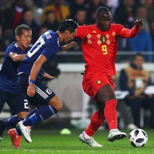 FIFAランク5位ベルギーに日本はルカクさんの一発で沈む
