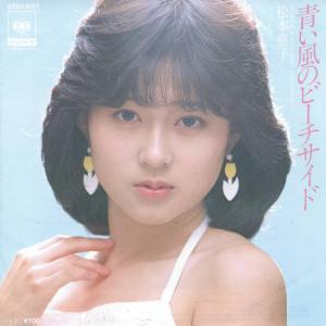 カラオケ動画:松本典子「青い風のビーチサイド」を歌ってみた