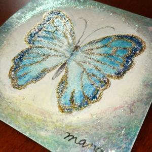 蝶が舞う~森の宝石~
