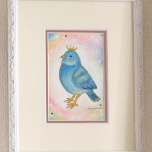 個展作品⑮『幸せの青い鳥』
