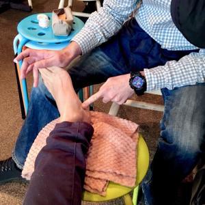 足の冷える方へ、足の爪にも良いこと(^^)/