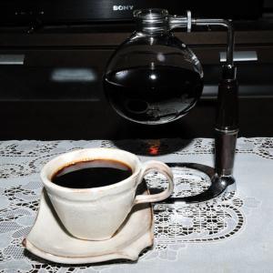 今朝の一杯。