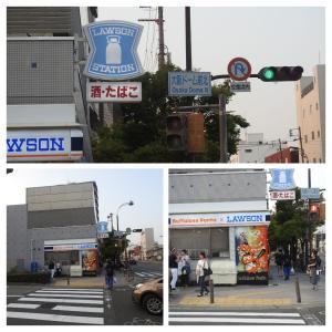 ローソン大阪ドームシティ店(バファローズポンタローソン)/大阪市西区