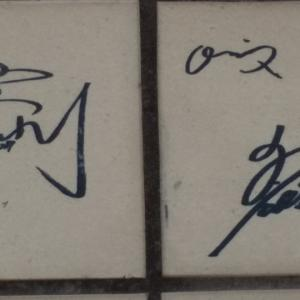 神戸メリケンパーク/オリックス選手・関係者手形サインパネル②