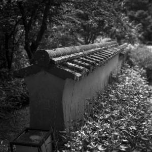 室町時代に作られたわけではない室町塀