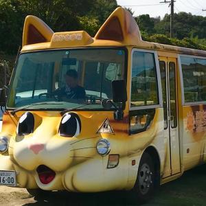 猫バスと人形劇・保育園公演1回目