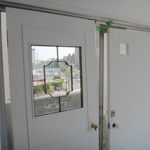 扉のリメイク(茶室のある部屋㉓)