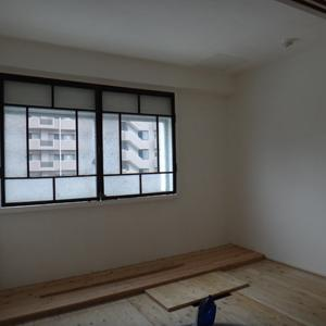 茶室窓の建具取り付け(茶室のある部屋㉕)