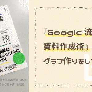 『Google流資料作成術』は、グラフ作りに特化したデザインの参考書。考え方とテクニックの両方を学ぶ本