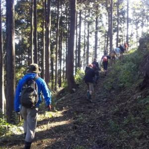 猟期前最後の山歩き