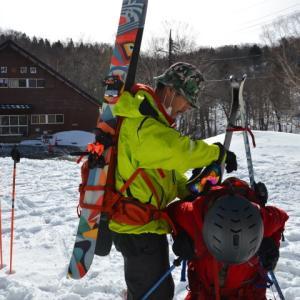 2年ぶりの至仏山バックカントリースキー!