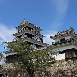 大洲城と冨士山と今治城(blog)