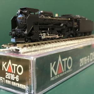 新規入線車両(KATO D51・長野式集煙装置付)。