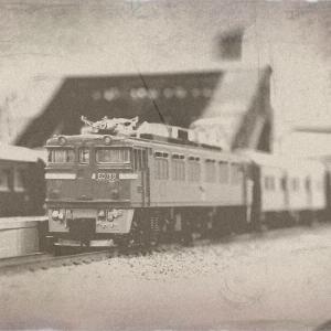 模型の写真を、古写真風に加工して楽しむ。
