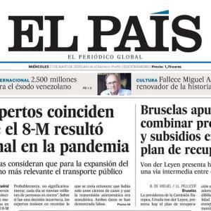 スペイン、一番好きなオンライン新聞は