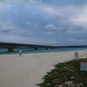 古宇利島から大橋・・・