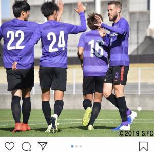 広島見事、日本代表に勝利!