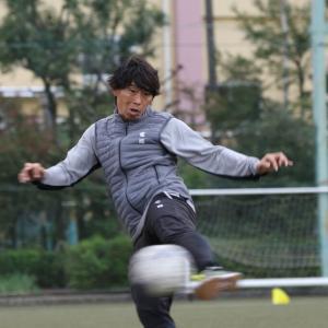 寿人選手と山岸選手がサッカー教室に