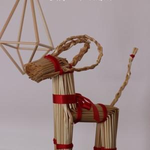 【北欧のクリスマス】オルキプッキで何?フィンランド伝統の麦わら細工に挑戦!