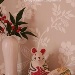 【正月準備】お正月インテリアにはやっぱり干支!&無印良品の福缶のネズミが可愛い♪