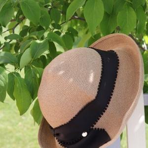 【UV対策】お気に入りの帽子と一目惚れ帽子♪別注ならではのこだわりリボン!