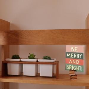 【クリスマスインテリア】この小さな一枚で簡単クリスマスムード♪