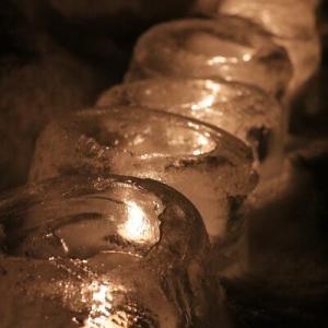 【大寒】厳しい寒さの中に儚く優しい灯りに心温まる♪