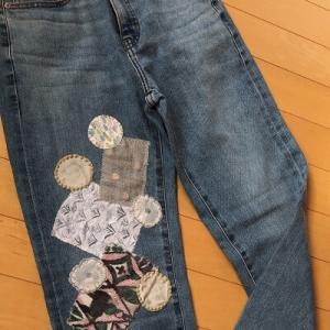 【ミナペルホネン】オンラインで販売が始まった!ワンコインで世界に一つのミナのジーンズ出来上がり♪