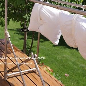 【湿気対策】さらさらふかふかの寝具は最高♪秘密はこれでした!