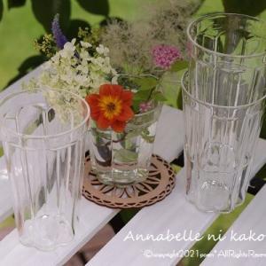 【scope】レトロな感じがオシャレ♪夏に活躍間違いなしの素敵なグラス!