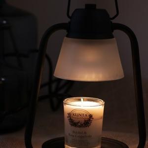 火を使わずに話題のマッサージキャンドルが楽しめる素敵なランプ♪