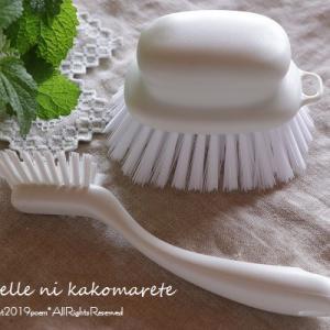道具次第でお風呂掃除が楽々♪力の入りやすさがポイントです!