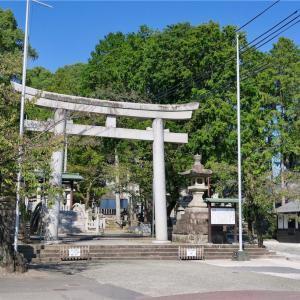 針綱神社(鮎みくじ)&犬山のマンホール蓋(愛知・犬山その4)