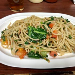ジャポネで食べたスパゲッティ(東京・有楽町)