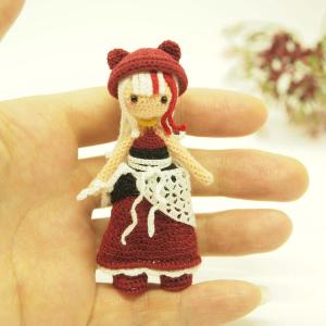 オーダー品 ファンタジー風な女の子 赤ver
