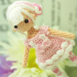 オーダー品 ピンクドレスの女の子
