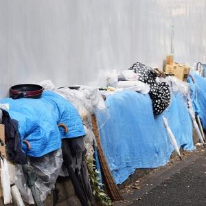 人間扱いされない路上生活者!甚大な台風の中避難所にも入れず。。