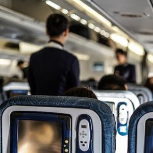 カナダ機内で『コロナウイルス感染』と嘘!飛行機轢き返し男は逮捕!!