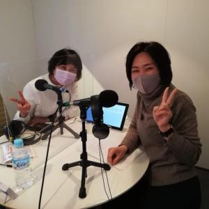 初のラジオ収録 (*^^*)