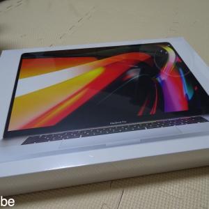 MacBook Pro 16インチを衝動買い